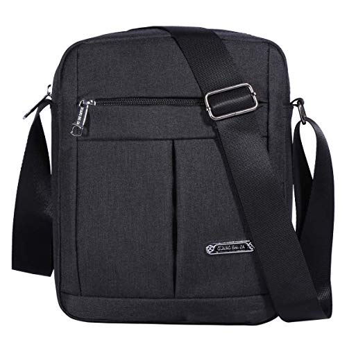 Men's Messenger Bag - Crossbody Shoulder Bags Travel Bag Man Purse Casual Sling Pack for Work Business