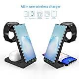 Wireless Charger, ZHIKE 3 in 1 10W Fast Charging