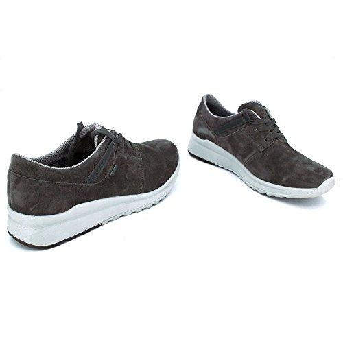 Superfit 1-00591-88, Chaussures de Ville à Lacets pour Femme - Gris - Gris,