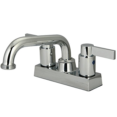 Dual Handle Laundry Faucet - 9