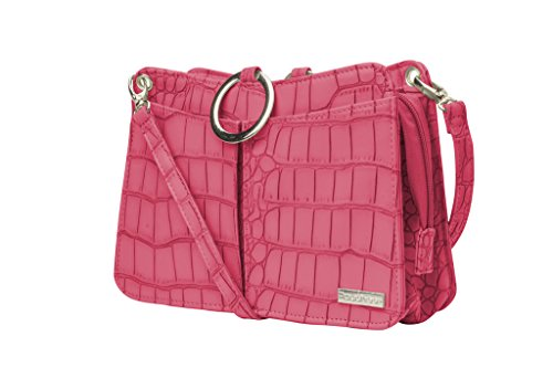 POUCHEE SPRING RED CROCO DELUXE