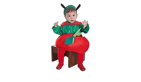 LLOPIS - Disfraz Bebe Gusano y Manzana: Amazon.es: Juguetes y juegos