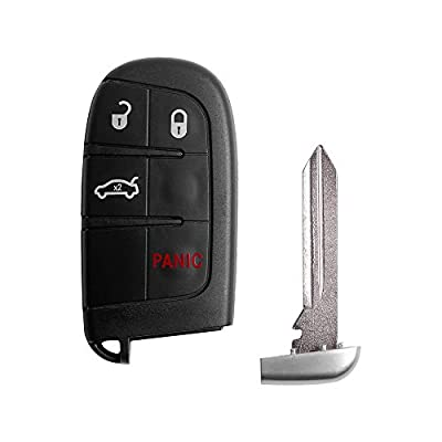 VOFONO Keyless Entry Remote Car Key Fob Replacement 4 Button M3N40821302 for 2011-2020 Dodge Charger Challenger Dart Durango Journey/ 300: Sports & Outdoors