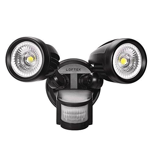 Defiant Motion Security Led Light Black