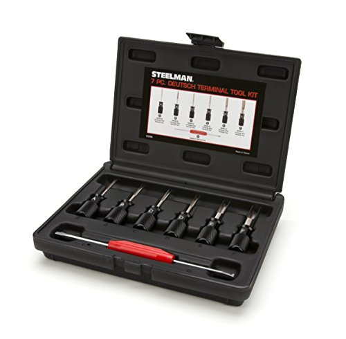 - Steelman 95886 7-Piece Deutsch Terminal Tool Kit