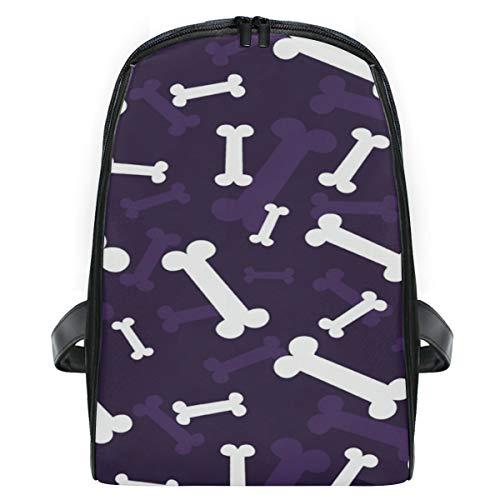 KEAKIA Halloween Bones Pattern School Bag Bookbags Children's Backpacks for Toddlers Kids Girls Boys Kindergarten -