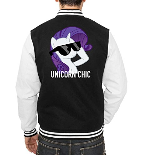 Unicorn Chic College Vest Black Certified Freak