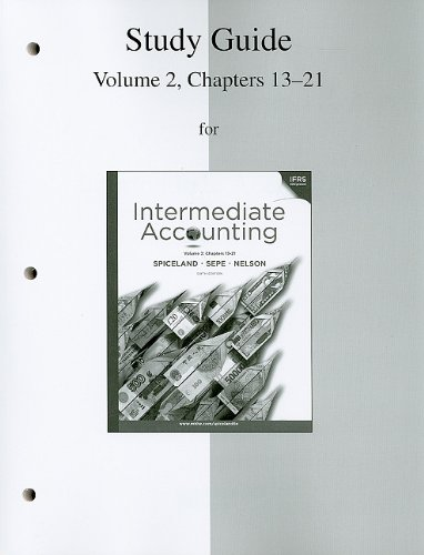 intermediate accounting chapters This paper describes how bloom's taxonomy was used to analyze the end-of- chapter (eoc) material found in 41 intermediate financial accounting textbooks.