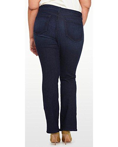 NYDJ Womens Plus Size Billie Mini Bootcut Jeans