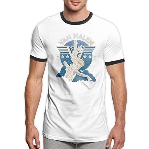 Men's Van Halen Retro Ringer T-shirt. S to XXL
