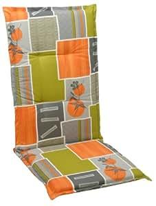 GO-DE 19245-01 - Cojín para sillas de exterior (naranja), color multicolor