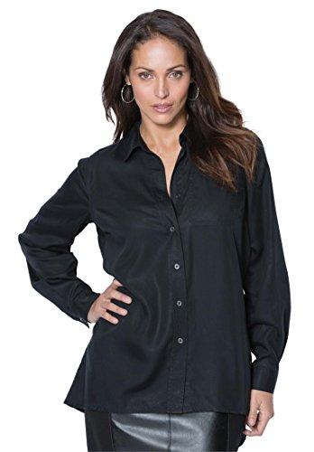 Jessica-London-Womens-Plus-Size-Tencel-Denim-Shirt
