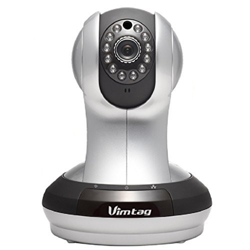 Vimtag VT-361 Super HD WiFi Video Monitoring Surveillance Security Camera, Plug/Play, Pan/Tilt with Two-Way Audio & Night Vision Review