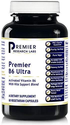 Premier B6 Ultra 60 Cap/Bottle by Premier Research Biogenics Labs (3) by PRLabs