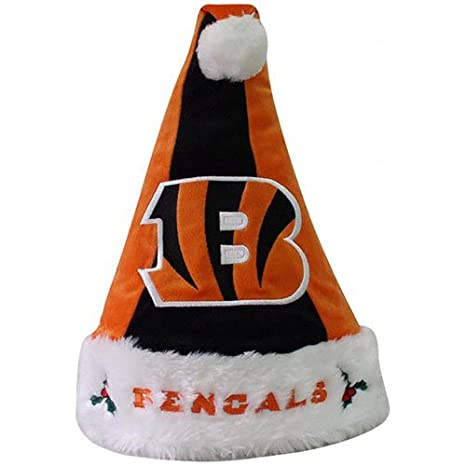 2b596721 Forever Collectibles Cincinnati Bengals Colorblock Santa Hat