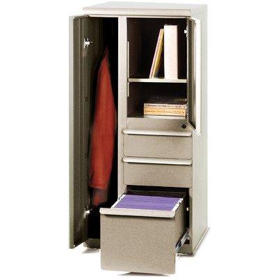 Ensemble 1 Door Storage Cabinet Finish: Pumice