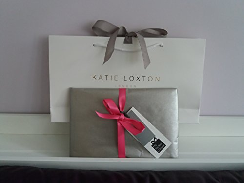 Includes Perfect Pink' bag 'Pretty Loxton Evening Perfect Loxton FREE giftbag amp; In Katie giftwrap Pink Pouch Clutch Katie azH1wnqxU