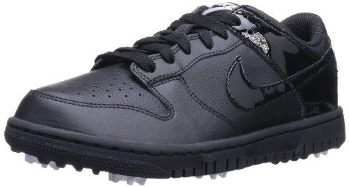 NIKE Golf Boys' Dunk NG Lace-Up, Black/Black/Black, 4 M US Big Kid (Nike Dunk Golf)