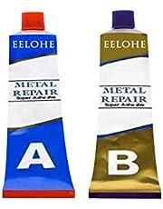 20 g metaallijm, koudlasmassa, hechtstaal, vloeibaar metaal, industrieel, hittebestendig, koud lassen, metaal, reparatieinvoegen voor metaal, hittebestendigheid