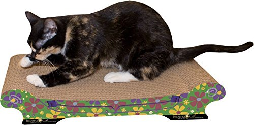 Imperial Cat Comfort Couch Scratch and Shape, Retro Green -