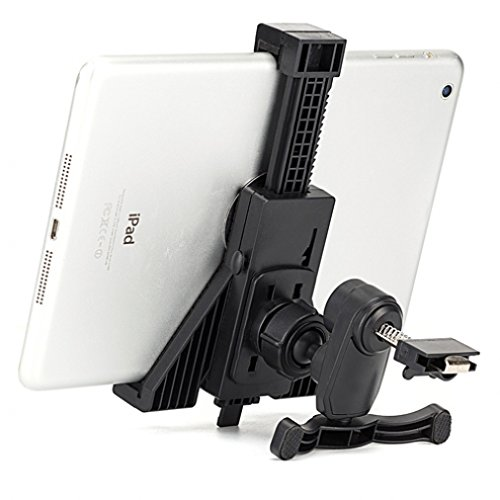 High Quality Car Mount Tablet Air Vent Holder Dock for ASUS Memo Pad ME102 10.1 - Barnes & Noble NOOK Color - Barnes & Noble NOOK HD - Barnes & Noble NOOK HD+