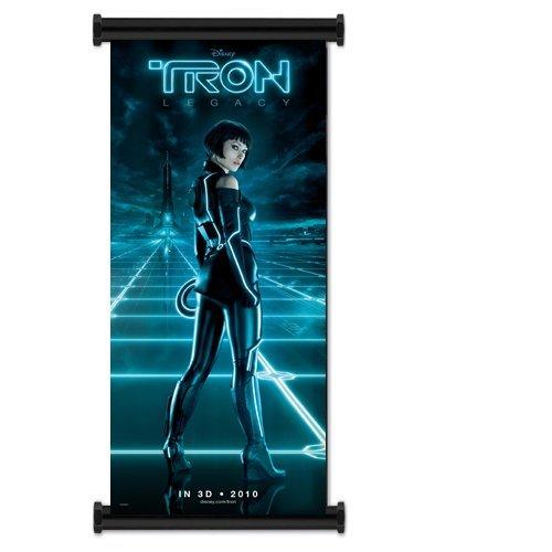 Tron Legacy Movieファブリック壁スクロールポスター( 16インチx36インチ B0066XYVYG