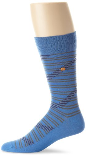 BOSS HUGO BOSS Men's Diagonal Stripe Crew Sock