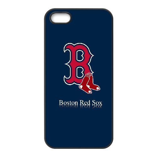 Boston Red Sox L9M97N6SV coque iPhone 4 4s case coque cover black FK73GM