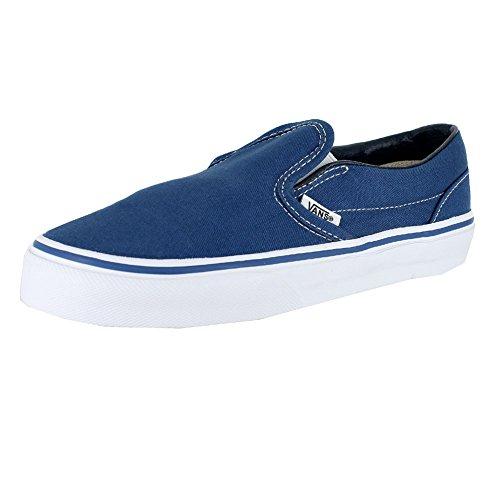 Vans Kids Classic Slip-On (Little Big Kid), Navy/True White, 1 M -