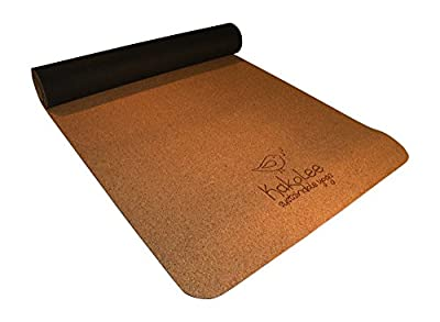Premium Eco-Friendly Yoga Set. Non-slip Cork Yoga Mat, the More You Sweat the More it Grips! Ultimate Comfort Block with Stylish Jute Mat Bag. Earth Friendly, Biodegradable Products From Kakolee