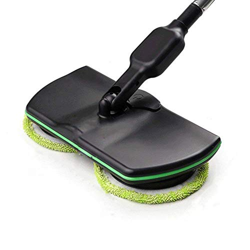 Uhruolo Electric Rotary Mop,Upgraded Version Wireless Rechargeable Handheld Spinning Mop with 8 Blocks Pad Floor Cleaner Scrubber,Mopping Machine
