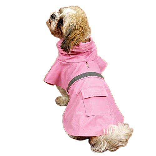 Guardian Gear Rain Jacket for Pets, X-Large, Pink (Pink Guardian Gear)