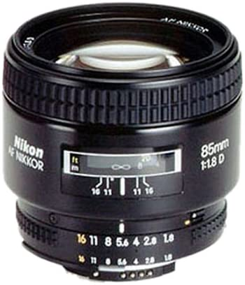 Nikon AF Nikkor 85mm 1:1,8D Objektiv (62mm Filtergewinde)