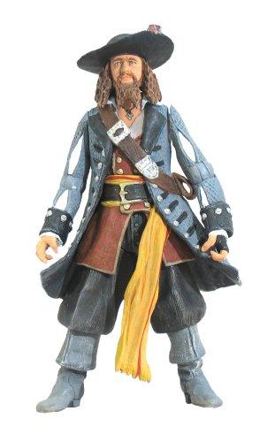 Zizzle Pirates of the Caribbean Dead Man's Chest 3 3/4 Inch Action Figure Series 2 Captain - Zizzle Pirate