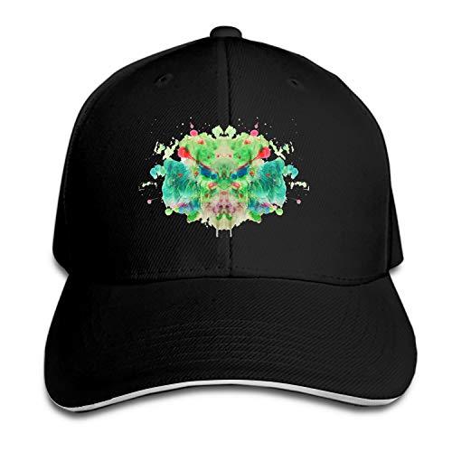 EIGTU Rorschach Tortosa Adult Denim Dad Solid Baseball Cap Hat -