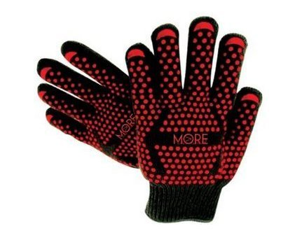 - Ultra-Premium Black Extreme Heat Resistant Gloves, EN407 Grill Master Grade Cooking Gloves Great for BBQ, Fireplace Use, Grilling, Cooking, Baking, Smoking, Potholder and Oven Gloves by More