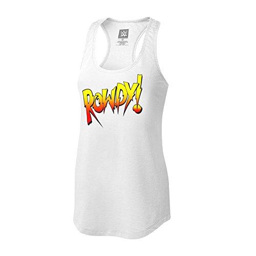 WWE Ronda Rousey Rowdy Ronda Women's Tank Top White XL by WWE Authentic Wear