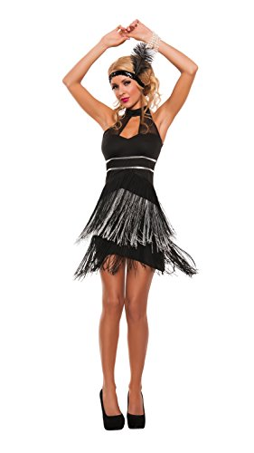 Starline Women's Flirty Flapper Sexy Roaring 20s Costume ...