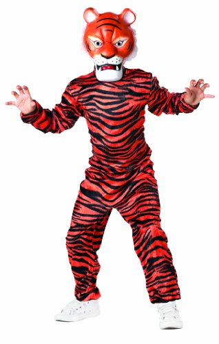 Jungle Book Bagheera Costume (Seasons Shere Khan Child Costume, 4-6 Size)