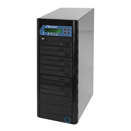 Microboards Technology CopyWriter DVD PRM PRO-516, Pro Version Duplicator with 250GB Hard Drive & 5 Recording Drives, 18x DVD, 48x CD Speeds.