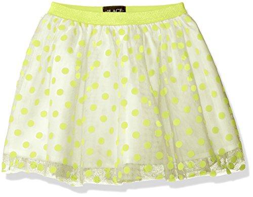 The Children's Place Girls' Dot Flock Skirt