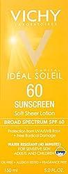 Vichy Laboratories Capital Soleil SPF 60 Soft Sheer Sunscreen Lotion, 5 oz
