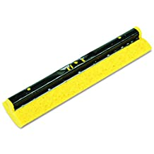 Rubbermaid Commercial Cellulose Replacement Head for Steel Sponge Mop, 12-Inch Wide, Yellow (FG643600YEL)
