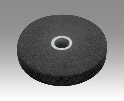 3M (XL-UW) EXL Unitized Wheel, 4 in x 1/4 in x 1/4 in 6S FIN [You are purchasing the Min order quantity which is 20 Wheels] by 3M