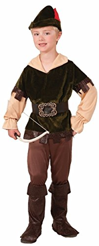 Robin Hood Archer Woodsman Renaissance Peter Pan Halloween Child Boys Costume ()