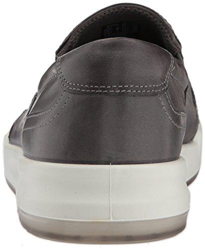 Ecco Heren Jack Slip Op Sneaker Titanium Sport