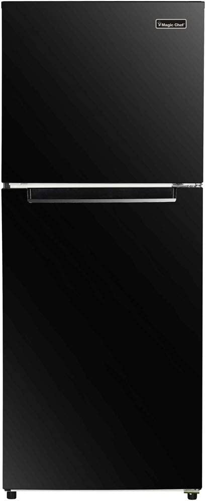 Magic Chef Energy Star 10.1-Cu. Ft. Refrigerator with Top-Mount Freezer in Black