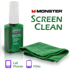 (Monster ScreenClean for iPods, Cell Phones & PDA's)
