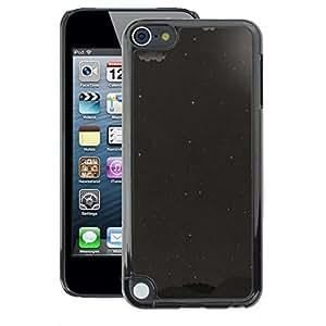 A-type Arte & diseño plástico duro Fundas Cover Cubre Hard Case Cover para Apple iPod Touch 5 (Moon Gray Black White Stars Sky)