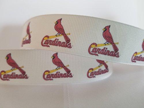 St Louis Baseball Grosgrain Ribbon (25 yards)